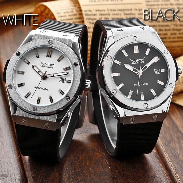 【全商品オープニング価格 特別価格】 腕時計 自動巻き 自動巻き カレンダー機能付き 男性42mmフェイスバックスケルトン自動巻き腕時計, HOMESTYLE:21e7057a --- test.ips.pl