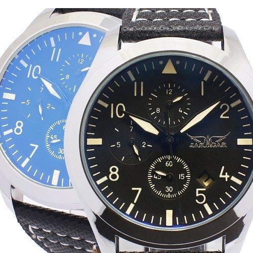 日本未入荷 腕時計メンズ 腕時計 送料無料日付表示と曜日表示さらに月表示までもが付いたトリプルカレンダー搭載で機能面も充実のモデル, 帽子店 Sun's Market:37188120 --- wap.milksoft.com.br