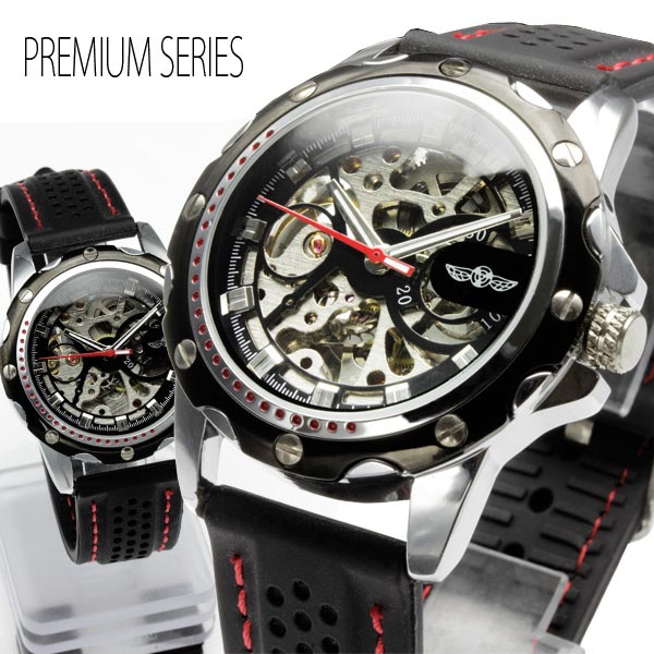 クラシック 男性 腕時計男性 腕時計 自動巻きフルスケルトン自動巻き腕時計, ミマタチョウ:3ddcc1b3 --- test.ips.pl