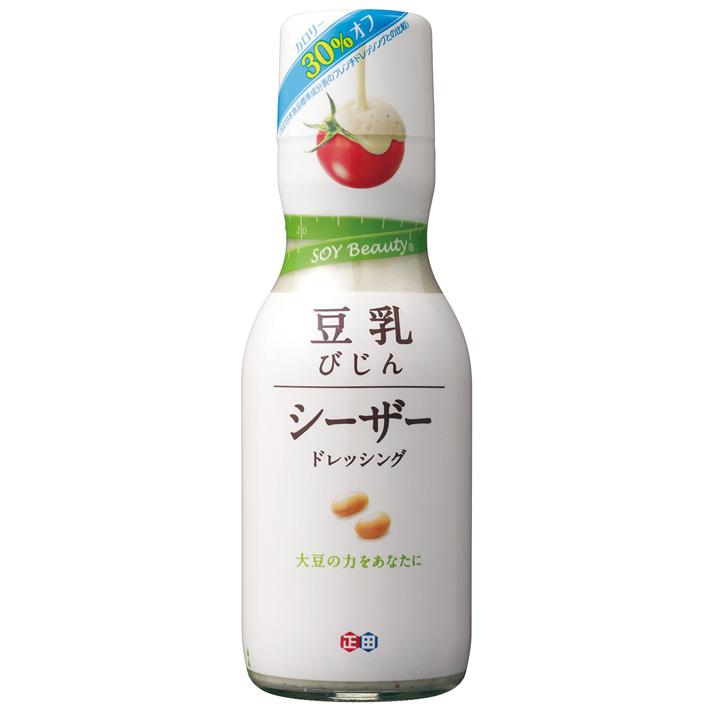 豆乳を使った新しいシーザードレッシング 評判 ギフ_包装 正田醤油 《2021年9月末販売終了します》豆乳びじんシーザードレッシングR200mlビン