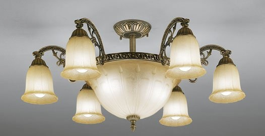 OC005203LD オーデリック電気工事必要LED電球(電球色)5W9灯付