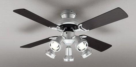 SH9072LDR オーデリック電球形LEDシーリングファンE17電球形LED5.7W5灯付(電球色~昼白色))