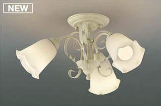 AH39686LコイズミLEDシーリング電球形LED6.6W3灯付