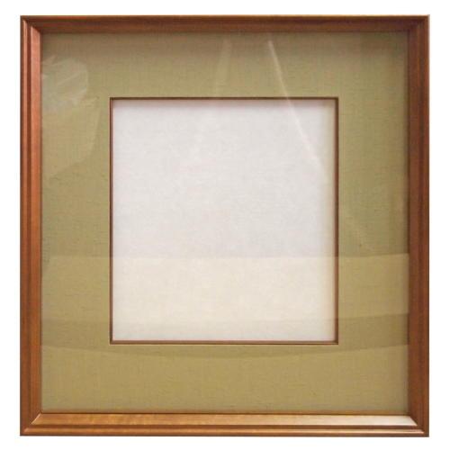 木製色紙額DK015 BD角組共木入子付無地裂地 枠色・裂地色選択 (607013s) 大色紙額 木製額 アルミ額 アクリル板