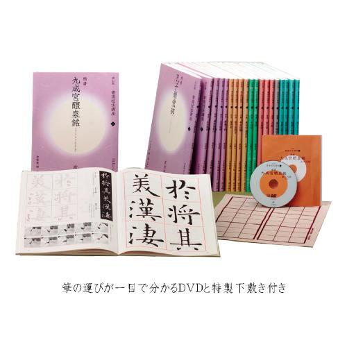 801687 改定版 書道技法講座 全20巻セット 二玄社