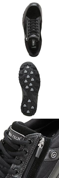 [高泥土技术体育系列]HYDRO TECH HDRT-023人| 走路用的鞋| 黑色