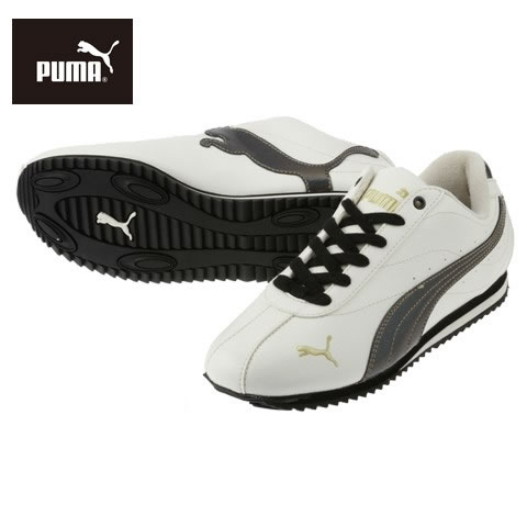 [PUMA] PUMA St Cyr women's 355081 05 ladies | Women's shoes | Low-cut | Simple classic | Popular brands | Whisper white / black (large size) P16Sep15