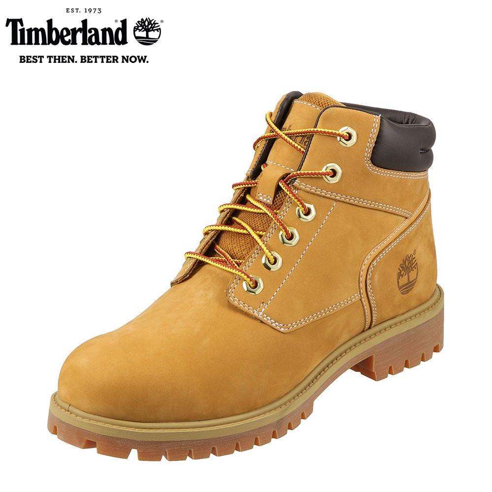 [マラソン期間中ポイント5倍]ティンバーランド Timberland ブーツ TIMB A1PHD メンズ 靴 シューズ 3E相当 チャッカブーツ 本革 撥水 レースアップ 幅広 ハイカット カジュアル 大きいサイズ対応 28.0cm イエロー