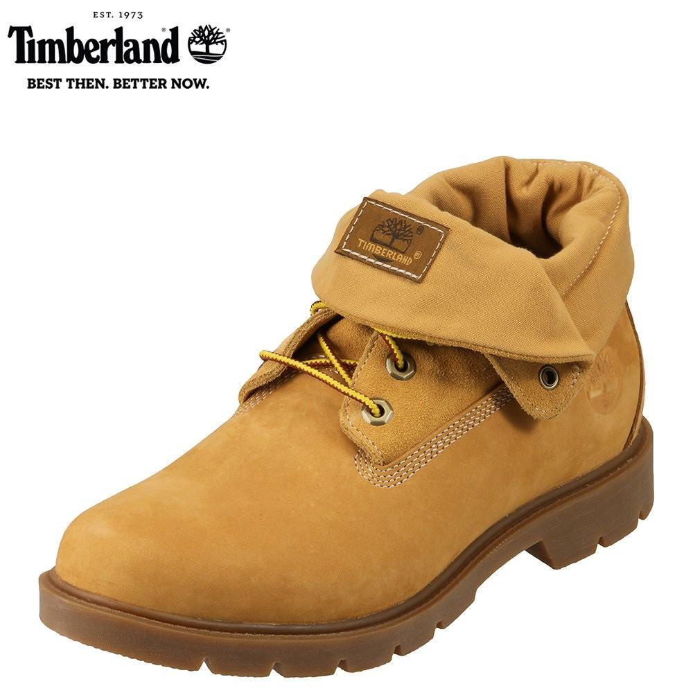 ティンバーランド Timberland ブーツ TIMB A1L5J メンズ 靴 シューズ 3E相当 ショートブーツ 本革 撥水 レースアップ 幅広 ロールトップ カジュアル 大きいサイズ対応 28.0cm イエロー