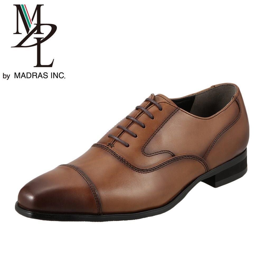 エムディエル MDL ビジネスシューズ DS4061 メンズ靴 靴 シューズ ビジネスシューズ 本革 内羽根 ストレートチップ 軽量 ライトブラウン