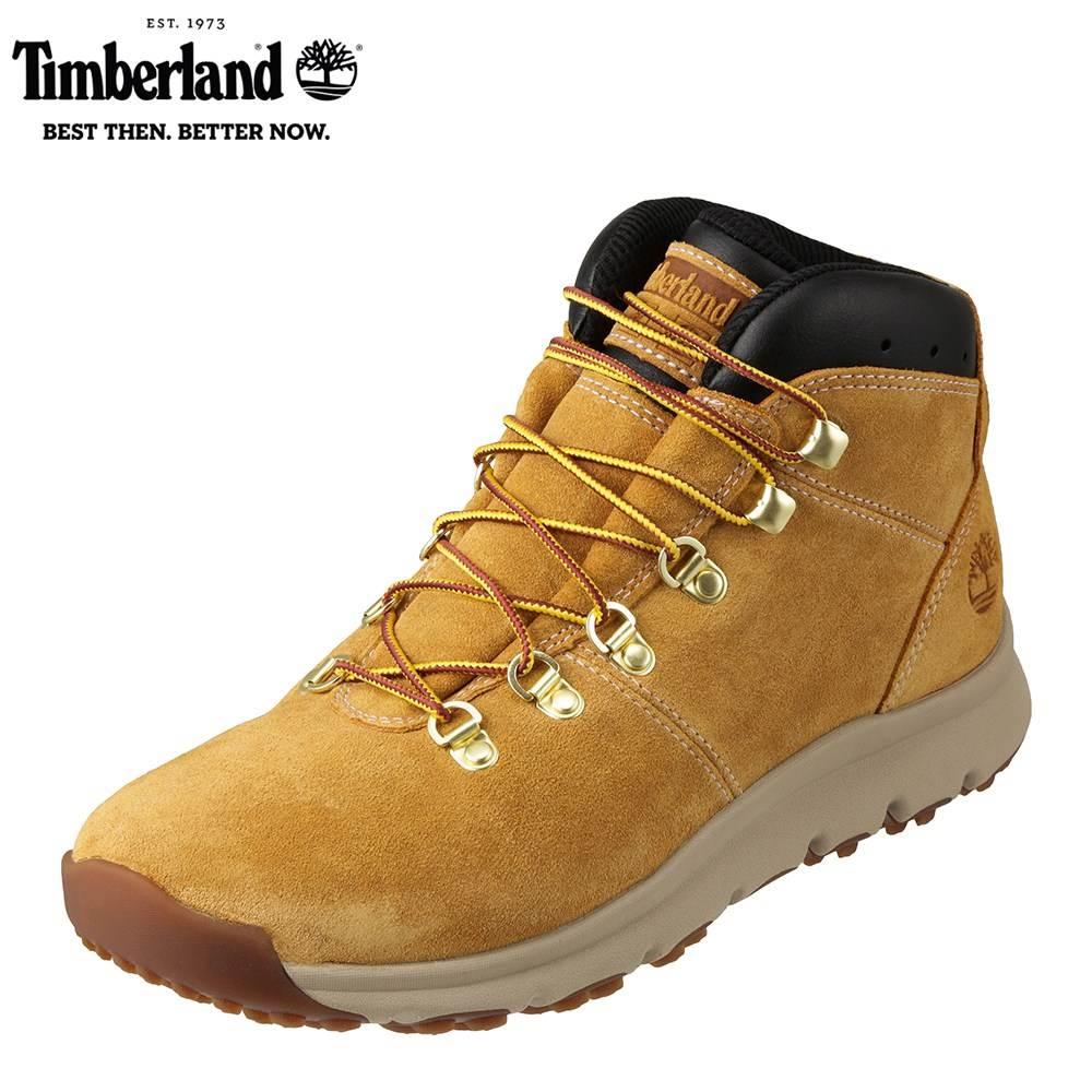 [マラソン期間中ポイント5倍]ティンバーランド Timberland ワーク TIMB A1QEW メンズ靴 靴 シューズ 3E相当 アウトドアブーツ ショートブーツ World Hiker センサーフレックス 人気 ブランド アメカジ 大きいサイズ対応 28.0cm イエロー