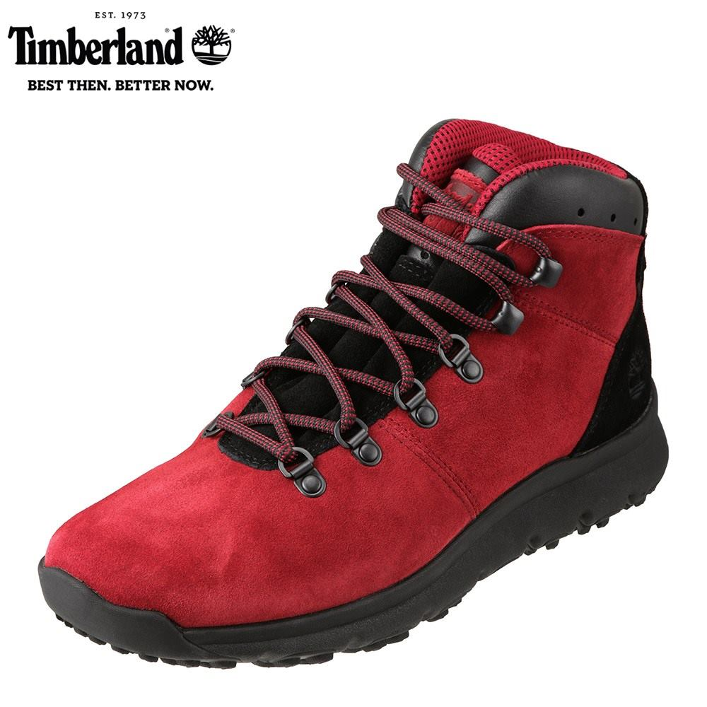 ティンバーランド Timberland ワーク TIMB A1RBE メンズ靴 靴 シューズ 3E相当 アウトドアブーツ ショートブーツ World Hiker センサーフレックス 人気 ブランド アメカジ 大きいサイズ対応 28.0cm レッド