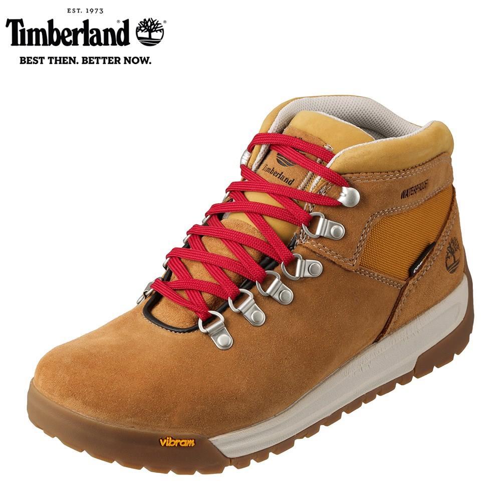 ティンバーランド Timberland ワーク TIMB A1RIB メンズ靴 靴 シューズ 3E相当 アウトドアブーツ ショートブーツ 防水 GT Scramble ハイカット ビブラムソール 人気 ブランド アメカジ 大きいサイズ対応 28.0cm イエロー