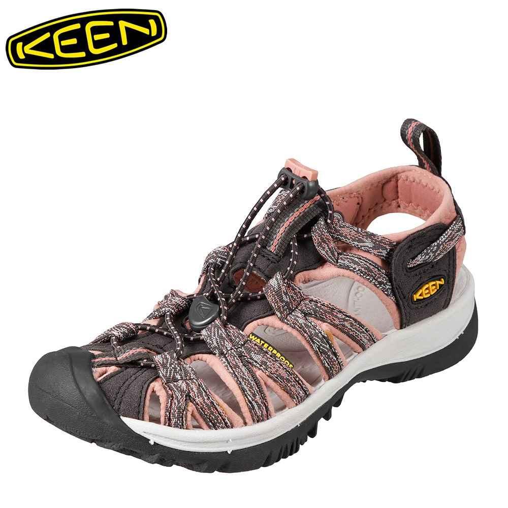 [マラソン期間中ポイント5倍]キーン KEEN レディース サンダル 1016244 WHISPER ウィスパー スポーツサンダル レディース靴 靴 シューズ スポサン 軽量 アウトドア キャンプ レジャー フェス ウォーターシューズ ブランド 人気 大きいサイズ対応 ピンク