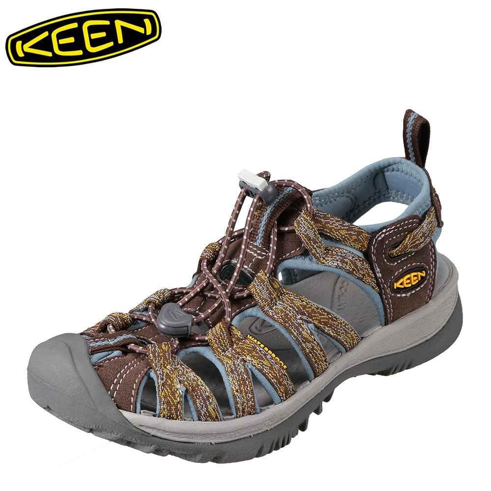 キーン KEEN レディース サンダル 1016241 WHISPER ウィスパー スポーツサンダル レディース靴 靴 シューズ スポサン 軽量 アウトドア キャンプ レジャー フェス ウォーターシューズ ブランド 人気 大きいサイズ対応 ブラウン