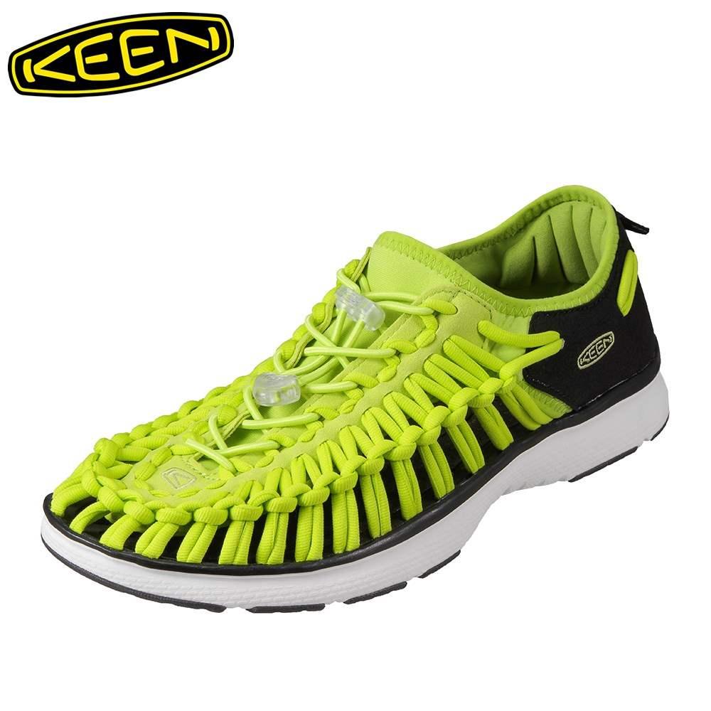 [マラソン期間中ポイント5倍]キーン KEEN メンズ スニーカー 1018716 UNEEK O2 ユニーク ローカットスニーカー メンズ靴 靴 シューズ スポーツサンダル スポサン 軽量 アウトドア キャンプ レジャー フェス ウォーターシューズ ブランド 人気 大きいサイズ対応 ライム
