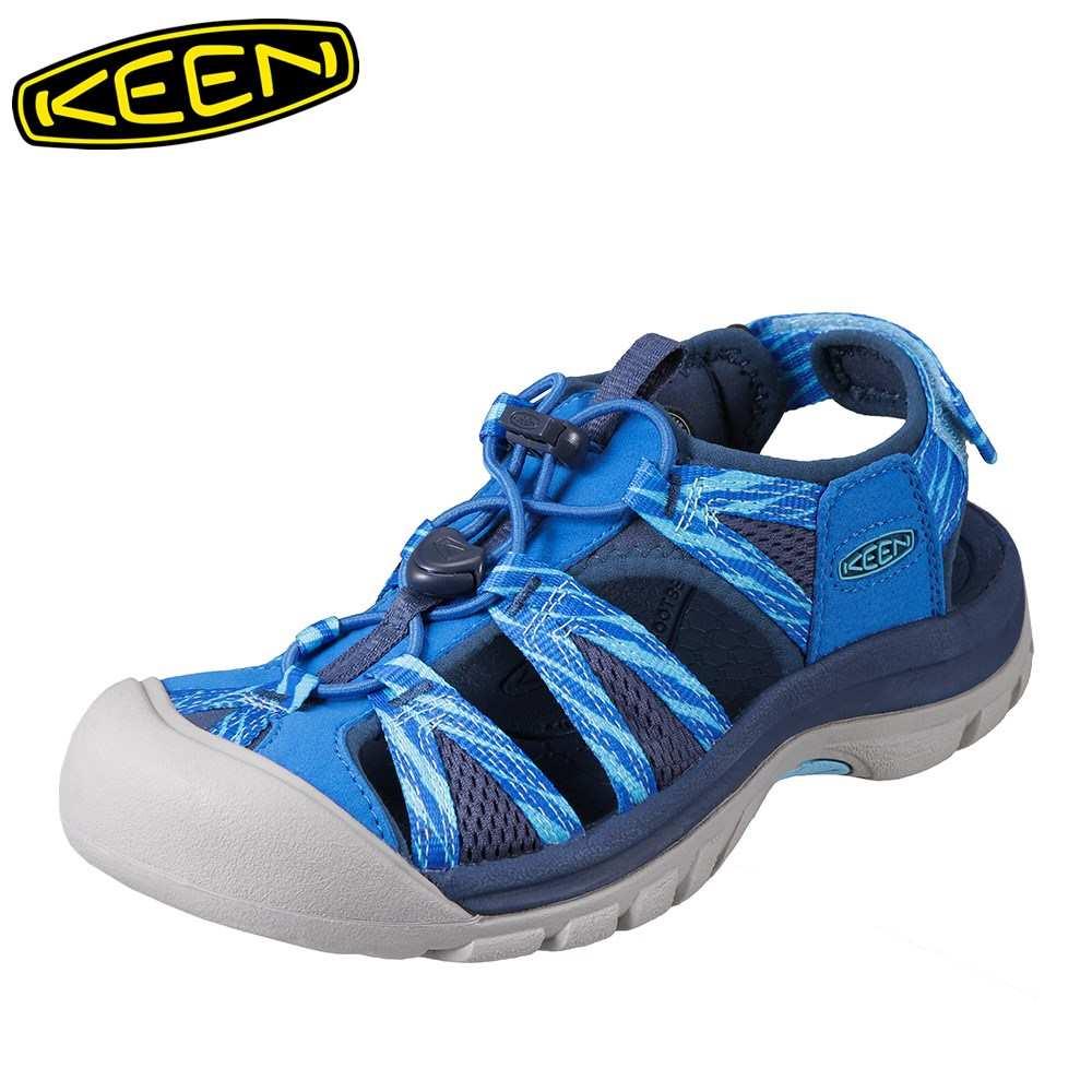 [マラソン期間中ポイント5倍]キーン KEEN レディース サンダル 1018852 VENICE II H2 ベニス スポーツサンダル レディース靴 靴 シューズ スポサン 軽量 アウトドア キャンプ レジャー フェス ウォーターシューズ ブランド 人気 ブルー