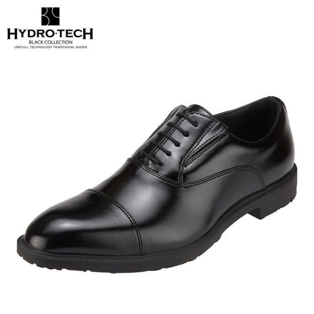 3000円以上送料無料 4000アイテム以上取扱 全国に店舗展開する 靴チヨダ 市場店 ハイドロテック ブラックコレクション HYDRO TECH HD1420 大きいサイズ対応 3E相当 防水 吸湿 放湿 ビジネスシューズ 迅速な対応で商品をお届け致します 商品追加値下げ在庫復活 靴内快適 ブラック メンズ靴 防滑