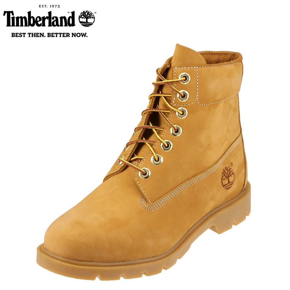 ティンバーランド Timberland ブーツ TIMB 10066 メンズ靴 靴 シューズ 25.0 - 28.0cm ショートブーツ 6インチ ミッドカット 防水 耐久性 レースアップ 人気モデル 大きいサイズ 対応 28.0cm イエロー