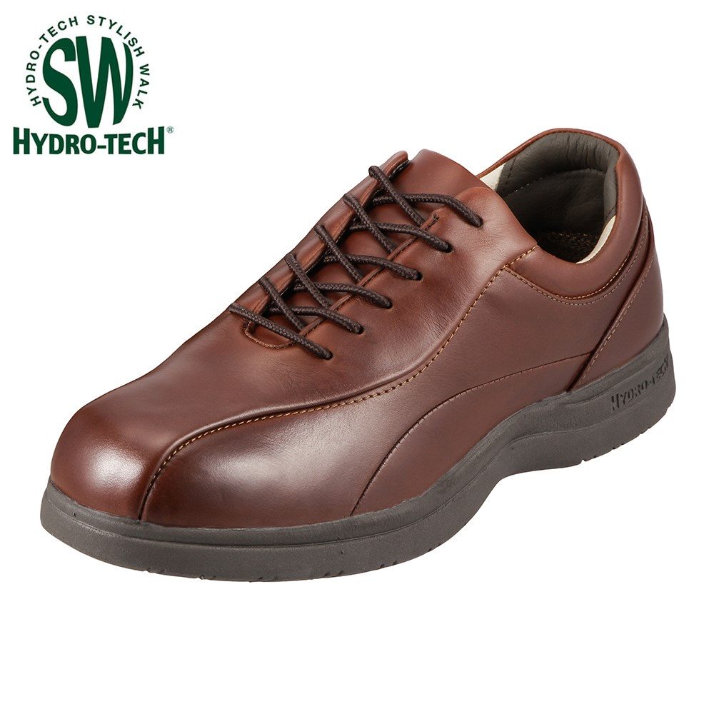 大的高泥土技术HYDRO TECH时尚的行走走路用的鞋人人鞋鞋鞋24.5-28.0cm 3E 6325暗褐色商务通勤工作防水轻量打击吸收靠垫性尺寸对应