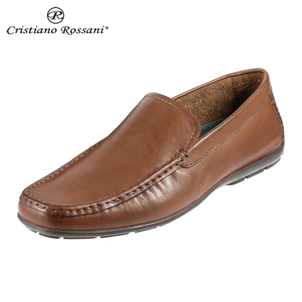 クリスチアーノ・ロザーニ Cristiano Rossani 2001 メンズ | ドライビングシューズ | スリッポン | イタリアンレザー|イタリア製本革 | ITALY|レザー | 幅広 ゆったり | ブラウン 取寄
