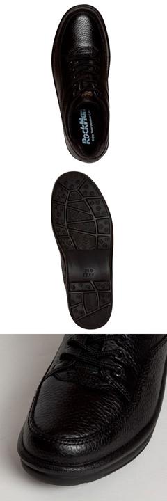 [Rockman] RockMan 1600 men's | Casual shoes | 4E EEEE | Light-weight design | Leather | Black 5P07Nov15