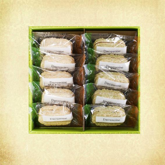 国産米を使った米粉ダックワーズです 外はサクサク 4年保証 中はもっちり プレーン5個 抹茶5個です ダックワーズ 岩手 輸入 おみやげ 抹茶5個 平泉 10個入