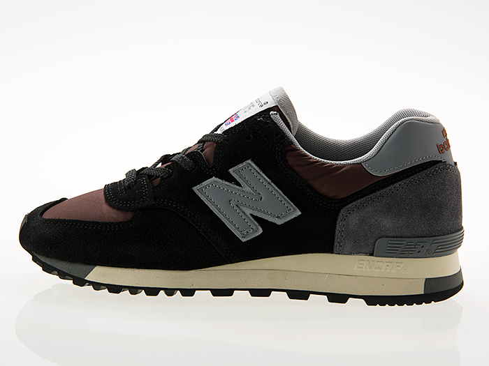 ニューバランス NEW BALANCE M575SNR MADE IN ENGLAND UK BLACK/BROWN/GRAY ワイズD
