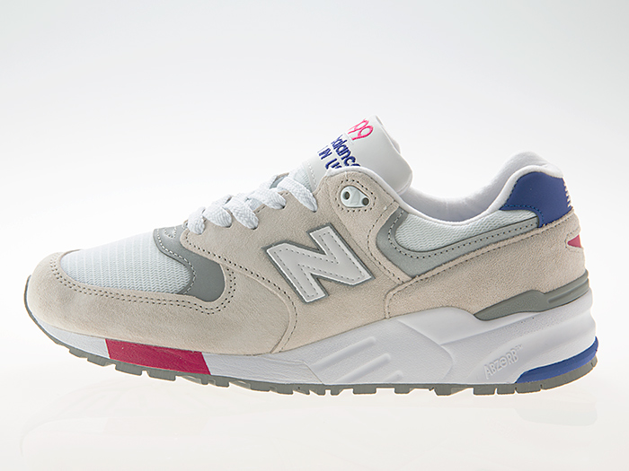 ニューバランス NEW BALANCE M999WEA MADE IN USA LIGHT GRAY/BLUE/PINK ワイズD