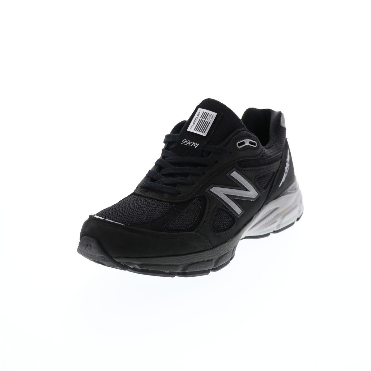new balance ニューバランス メンズ スニーカー スエード 本革 M990 IB4 1023522 BLACK/SILVER ブラック×シルバー 黒M990 BL/SL