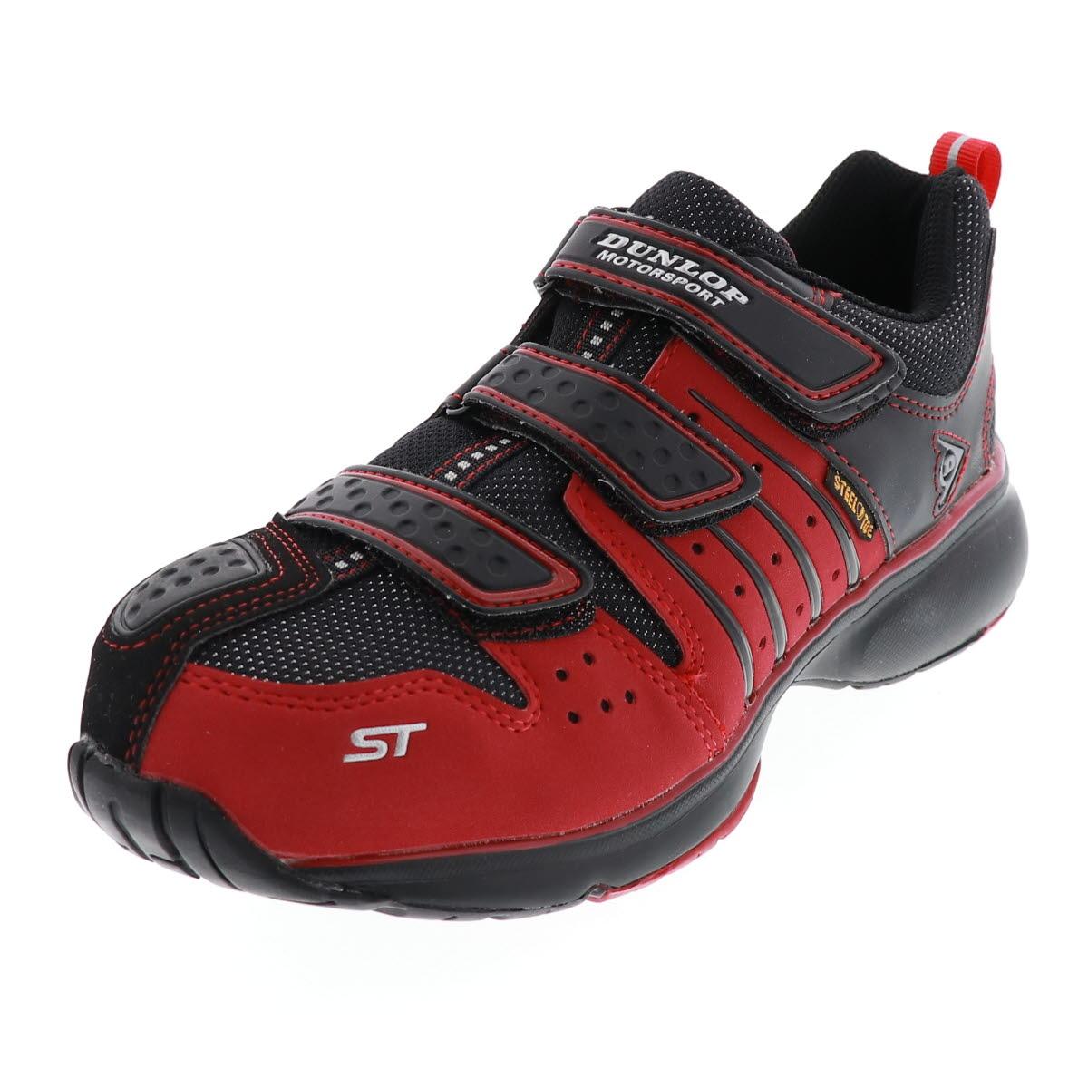 安全靴 メンズ ダンロップ DUNLOP マグナム ST302MG レッド