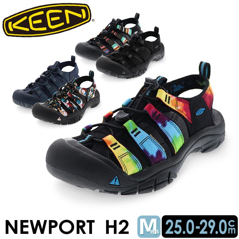 キーン ニューポート H2 メンズ スポーツ サンダル タウン シューズ KEEN NEWPORT H2 4color