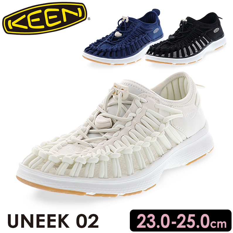 KEEN キーン UNEEK O2 ユニークオーツ― レディースオープンエアースニーカー ホワイト/319 ブルー/320 ブラック/941 KNーUNEEK o2