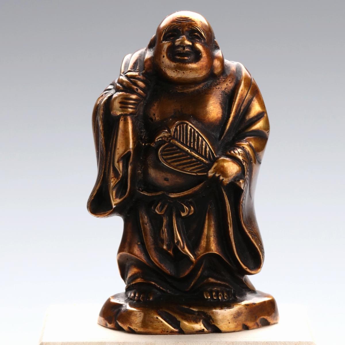 【高岡銅器】七福神3号 布袋尊