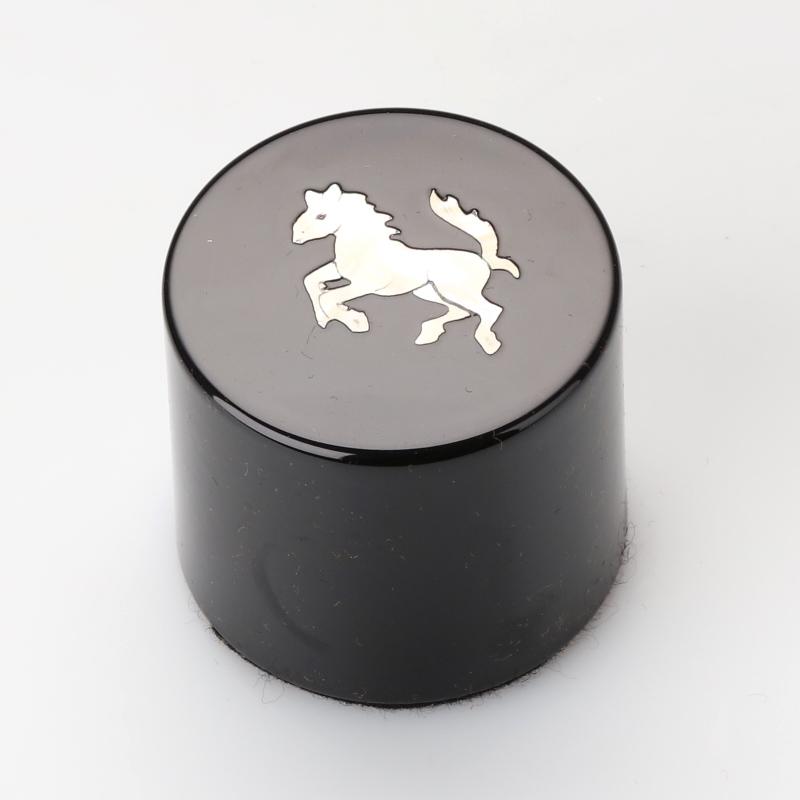 【高岡漆器】ペーパーウエイト 馬