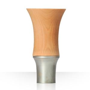 【Guinomi Sake Cup】BAMBOO(TALL) MISTY SILVER