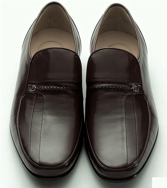 マレリー(Marelli)キップ革使用 4Eスリポンビジネスシューズ 4213(ブラック)メンズ 靴