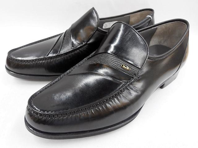 マレリー(Marelli)キッド革使用 4E モカシーノ製法ビジネスシューズ 5118(ブラック)メンズ 靴
