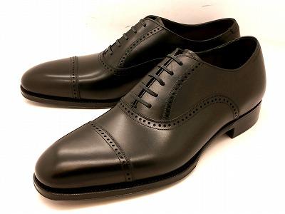 ユニオンインペリアル カーフ革 クォーターブローグビジネスシューズ U1521(ブラック) メンズ靴 UNION IMPERIAL