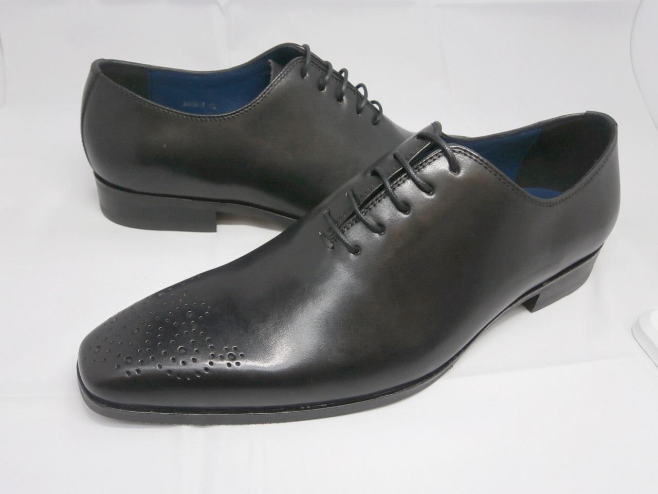 whoop'-de-doo' フープディドゥ ホールカット・プレーントゥ 306864(ブラック)メンズ靴