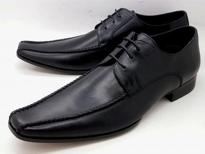 whoop'-de-doo' フープディドゥ エボリューション スワールモカレース ビジネスシューズ 304834(ブラック)メンズ靴