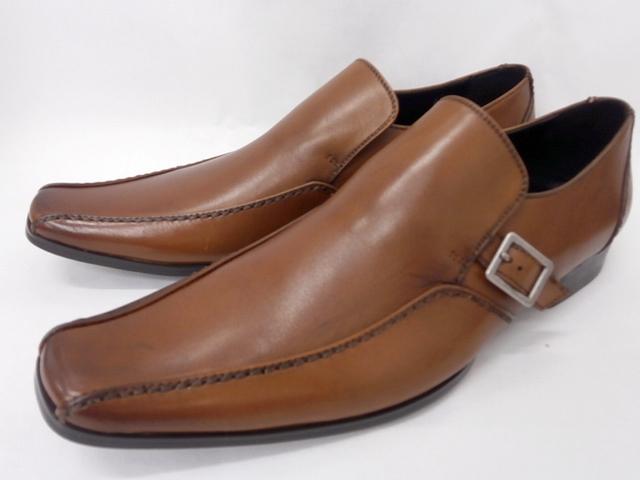 コスパとデザインのevolution エボリューション 新デザイン登場 whoop'-de-doo' フープディドゥ ブラウン 限定モデル ビジネスシューズ スワールモカスリポン メンズ靴 お見舞い 20630001