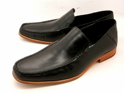 whoop'-de-doo' フープディドゥ カジュアルスリッポン 304764 (ブラック) メンズ靴