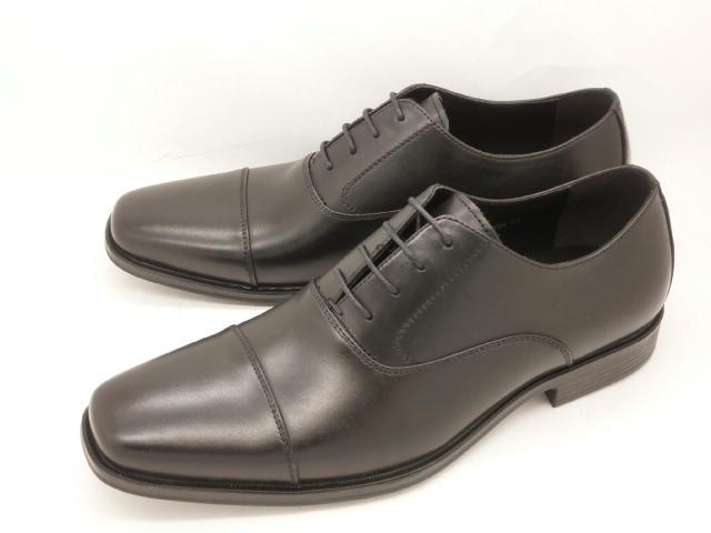 whoop'-de-doo' フープディドゥ evolution(エボリューション) 内羽根ストレートチップ 305104(ブラック)メンズ靴