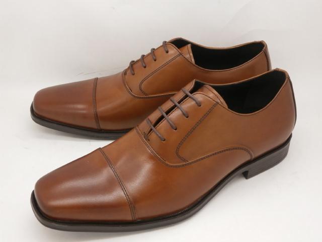 whoop'-de-doo' フープディドゥ evolution(エボリューション) 内羽根ストレートチップ 305104(ブラウン)メンズ靴