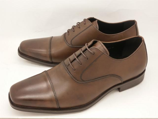 whoop'-de-doo' フープディドゥ evolution(エボリューション) 内羽根ストレートチップ 305104(ダークブラウン)メンズ靴