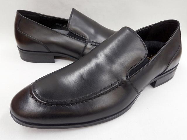 whoop'-de-doo' フープディドゥ シュッフェ シュナイダー (SCHUHE SCHNEIDER) スリッポンビジネスシューズ 308723 (ブラック) whoop'-de-doo' メンズ 靴