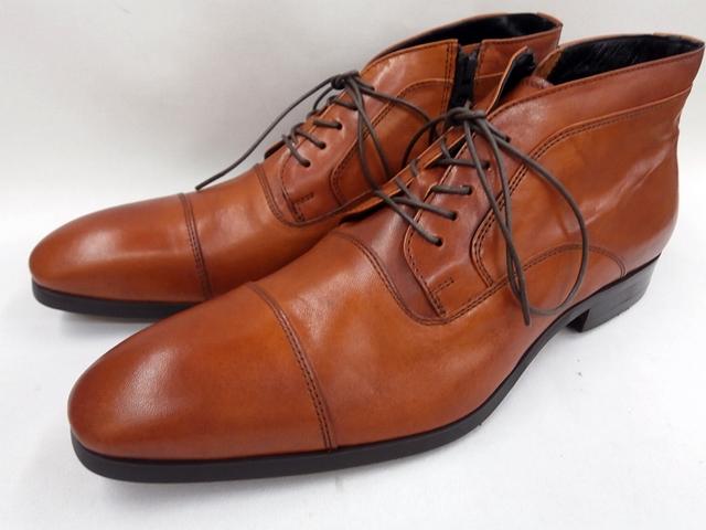 【現品25.5cm/即日発送】フープディドゥ 高級革チャッカブーツ 108342(キャメル) whoop'-de-doo' メンズ靴【栃木レザー】