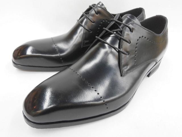 【19年新製品】whoop'-de-doo' フープディドゥ アンティーク ブラッチャービジネスシューズ 128024(ブラック) メンズ 靴