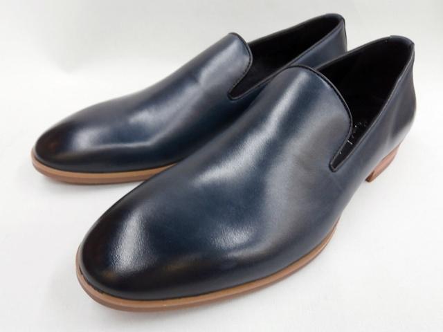 【19年春モデル】whoop'-de-doo' フープディドゥ オペラスリッポンシューズ 19130011 (ネイビー) whoop'-de-doo' メンズ靴